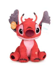 Peluche Leroy Stitch Disney soft sonido 30cm