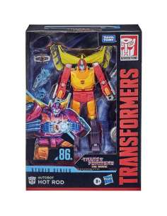 Figura Autobot Hot Rod Studio Series 86 Voyager Class Transformers 16cm