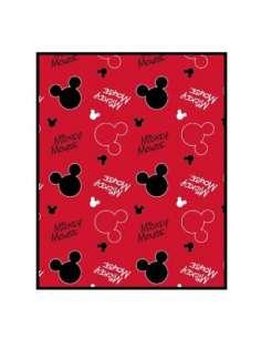 Manta Coralina Mickey Disney