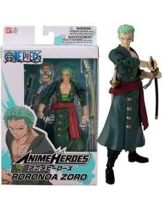 Figura Roronoa Zoro Anime Heroes One Piece 17cm