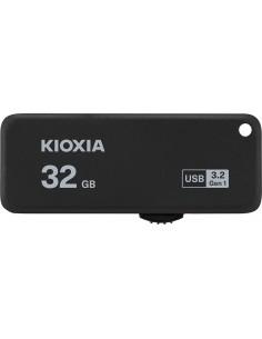USB 30 KIOXIA 32GB U365 NEGRO