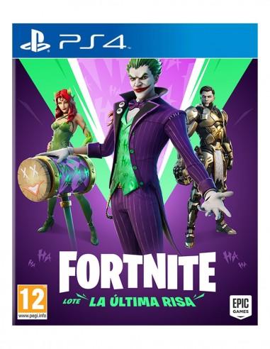 FORTNITE LOTE ULTIMA RISA PS4