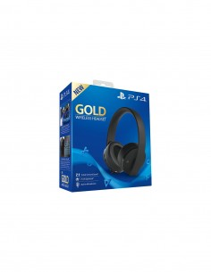 PS4 - Gold Wireless Headset